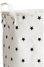 Large storage basket - White/Stars - Home All | H&M CN 2