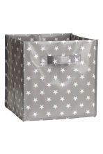 Storage box - Grey/Stars - Home All | H&M CN 1