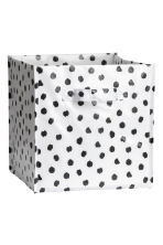 Storage box - White/Spotted - Home All | H&M CN 2