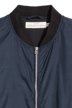 Bomber jacket - Dark blue - Men | H&M CN 3
