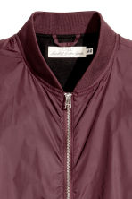 Bomber jacket - Plum - Men | H&M 3
