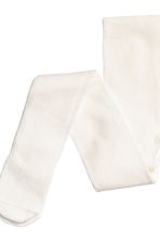 2-pack tights - Light grey/Glittery - Kids | H&M 3