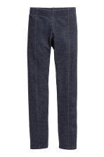 Sturdy jersey leggings - Dark blue -  | H&M CN 2