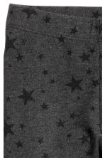 Legging en jersey épais - Nearly black/Stars - ENFANT | H&M FR 3