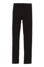 Sturdy jersey leggings - Black -  | H&M CA 2