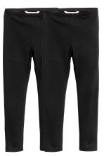 2-pack leggings - Black -  | H&M CN 2