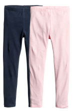 Leggings, 2 pz - Blu scuro -  | H&M IT 2