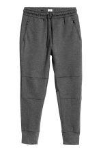 平紋運動慢跑褲 - Dark grey marl - Men | H&M 3