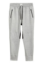 Jersey sports joggers - Grey marl - Men | H&M 3