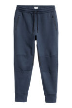 Jersey sports joggers - Dark blue - Men | H&M CA 2