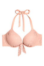 Super push-up bikini top - Old rose - Ladies | H&M 2