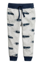 Sweatpants - Grey/Cars -  | H&M 2