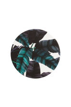 4-pack coasters - Dark blue/Leaf - Home All | H&M CN 2