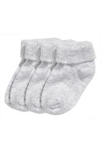 3-pack socks - Grey - Kids | H&M CN 1