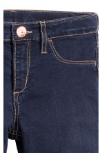 Superstretch Skinny Fit Jeans - Dark denim blue -  | H&M 4