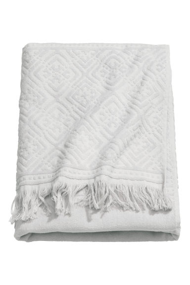 Bath towel - Light grey - Home All | H&M CN 1