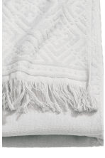 Bath towel - Light grey - Home All | H&M CN 3