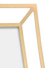 Metal photo frame - Gold - Home All | H&M CN 3