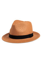 Straw hat - Natural - Men | H&M 1