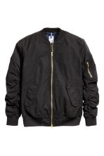Bomber jacket - Black - Men | H&M 2