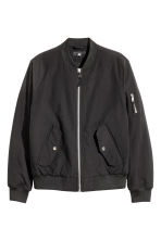 Padded bomber jacket - Black - Men | H&M CN 2