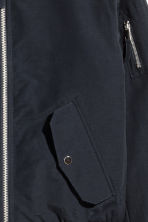 Padded bomber jacket - Dark blue - Men | H&M 3