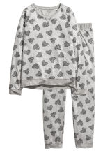 Pyjamas - Grey/Heart -  | H&M 2