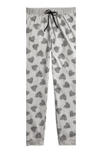 Pyjamas - Grey/Heart -  | H&M 3