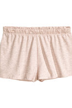Pyjamas with top and shorts - Pink marl - Ladies | H&M CN 3