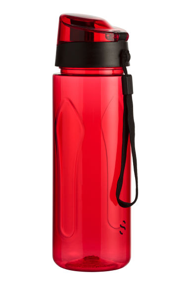 Water bottle with lid - Red - Men | H&M CN 1