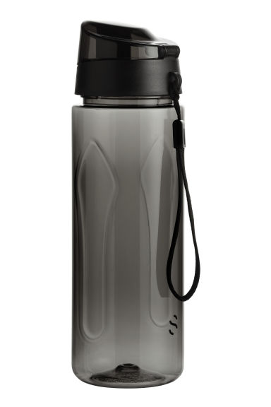 Water bottle with lid - Black - Men | H&M CN 1