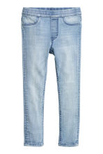Leggings in denim superstretch - Blu denim chiaro - BAMBINO | H&M IT 2