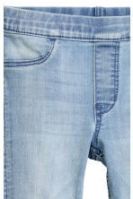 Leggings in denim superstretch - Blu denim chiaro - BAMBINO | H&M IT 4