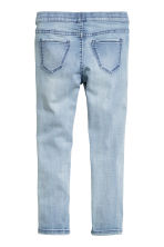 Superstretch denim leggings - Light denim blue - Kids | H&M 3