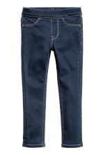 Superstretch denim leggings - Dark denim blue - Kids | H&M 2