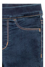 Superstretch denim leggings - Dark denim blue - Kids | H&M 3