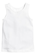 2-pack vest tops - Powder pink - Kids | H&M CN 2