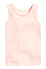 2-pack vest tops - Powder pink - Kids | H&M CN 3