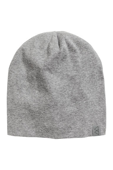 Jersey hat - Grey marl - Men | H&M 1