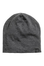 Jersey hat - Dark grey marl - Men | H&M CN 1