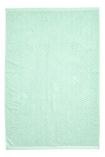 Jacquard-patterned bath towel - Mint green - Home All | H&M CN 2