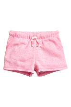 Shorts in jersey - Rosa mélange - BAMBINO | H&M IT 2