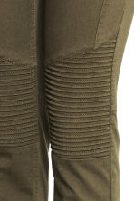 MAMA Biker treggings - Khaki green - Ladies | H&M CN 4