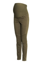MAMA Biker treggings - Khaki green - Ladies | H&M CN 2