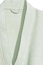 Waffled dressing gown - Mint green - Home All | H&M CN 2
