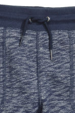 Sweatpants - Dark blue marl - Kids | H&M CN 3