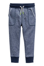 Sweatpants - Dark blue marl - Kids | H&M CN 2