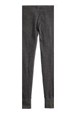 Lounge set top and leggings - Grey/Patterned -  | H&M CN 3