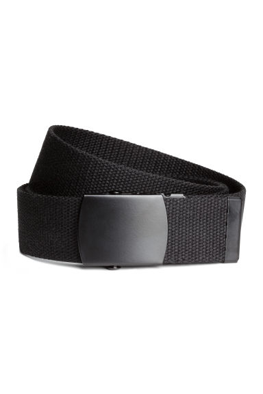 Webbing belt - Black - Men | H&M CA 1