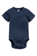 2-pack bodysuits - Dark blue -  | H&M CN 2